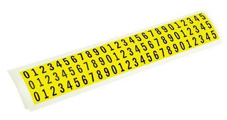 RS Pro - 7824396 - RS Pro 7824396 10件装 数字 标签