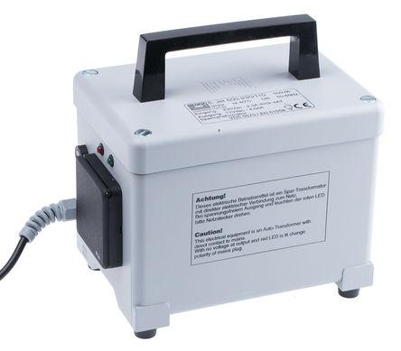 Block - EJET500 - Block 500VA 封闭构造 E-JET 500 自耦变压器, 230V ac 初级线圈, 110 V 交流 次级线圈