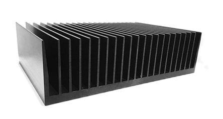 ABL Components - 177AB1000B - ABL Components 100 系列 铝 散热器 177AB1000B, 0.12°C/W, PCB(印刷电路板)安装安装, 100 x 300 x 83mm