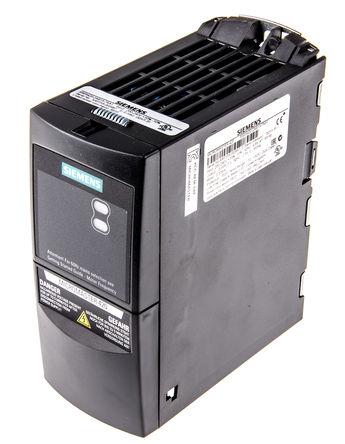 Siemens - 6SE64202AB137AA1 - Siemens MICROMASTER 420 系列 IP20 0.37 kW 变频器驱动 6SE64202AB137AA1, 0 → 550 Hz, 4.6 A, 200 → 240 V 交流