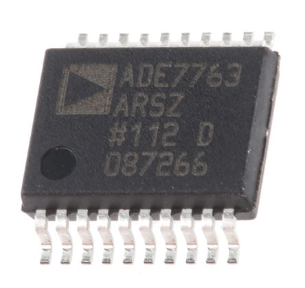 Analog Devices - ADE7763ARSZ - Analog Devices ADE7763ARSZ 能量计 IC, 20引脚 SSOP封装