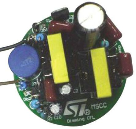 STMicroelectronics - STEVAL-ILD002V1 - 20W Dimmable CFL ballast based on L6574