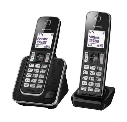 Panasonic - KX-TGD312EB - Panasonic KX-TGD312E LCD 显示 电话 KX-TGD312EB