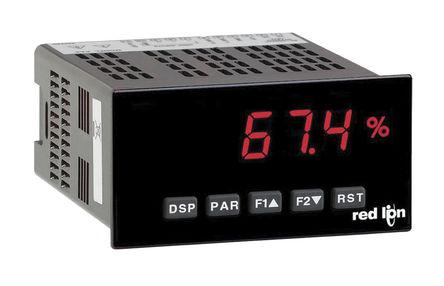 Red Lion - PAXD0000 - Red Lion LED 数字面板式多功能表 PAXD0000, 测量电压