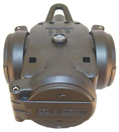 ABL Sursum - 1173503 - ABL Sursum 黑色 3 插座 �源 接�板 1173503, ��|安�b, 16A, 250 V