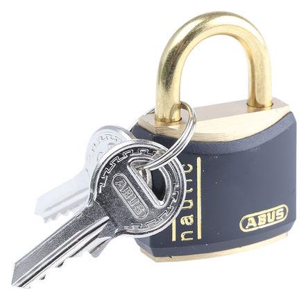 ABUS - XR0084 30 - Abus XR0084 30 黑色 �匙�I �S�~ 安全�戽i, 5mm �i�^