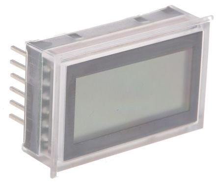 Murata Power Solutions - DMS-20LCD-1-5B-C - Murata Power Solutions DMS-20LCD-1-5B-C 3.5位 LCD显示 直流 数字电压表, 33.93 x 21.29 mm, 0°C至+60°C