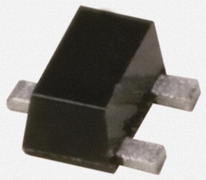 Panasonic - DSC9A01S0L - Panasonic DSC9A01S0L , NPN 晶体管, 50 mA, Vce=40 V, HFE:400, 150 MHz, 3引脚 SSMini3 F3 B封装