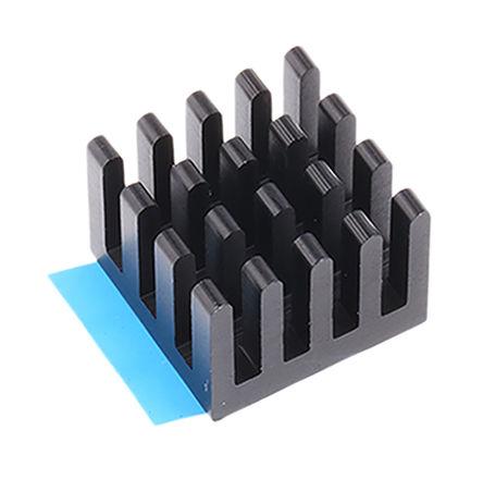 ABL Components - BGA STD 040 - ABL Components 黑色 散�崞� BGA STD 040, 16K/W, �z粘箔片安�b, 27 x 27 x 6mm