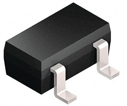 Broadcom - HSMS-2850-BLKG - Broadcom HSMS-2850-BLKG 射频检测器 肖特基 二极管, Io=10mA, Vrev=2V, 3引脚 SOT-23封装