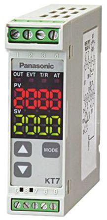 Panasonic - AKT7111100J - Panasonic KT7 系列 PID 温度控制器 AKT7111100J, 22.5 x 75mm, 100 → 240 V 交流, 1输出