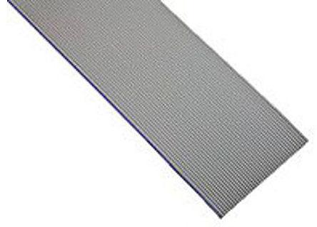 3M - HF319/10 300FT - 3M HF319 系列 90m�L 10 路 1.27mm�距 灰色 低��且�o�u (LSZH) �o屏蔽 ��铍��| HF319/10 300FT, 12.7 mm ��
