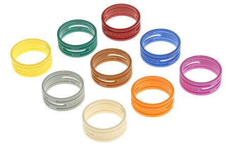 Neutrik - XXR 1-9 - Neutrik XXR 系列 彩色标识圈 XXR 1-9, 使用于XX 系列 XLR 电缆连接器