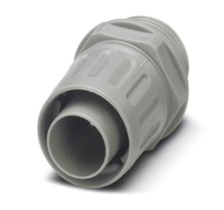 Phoenix Contact - 3241002 - Phoenix Contact IP54 灰色 PP 电缆固定头 3241002 至 10mm电缆直径, -10°C至+110°C, PG7螺纹