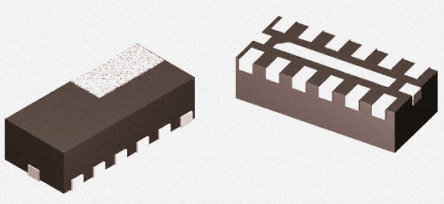 ON Semiconductor - NUF6010MUT2G - ON Semiconductor ESD 保护二极管, 5 V, 600 mW, 2.5 x 1.2 x 0.5 mm