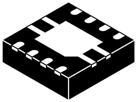 Silicon Labs - TS1109-200ITD833 - Silicon Labs TS1109-200ITD833 单 电流感应放大器, 缓冲输出, 8引脚 TDFN封装