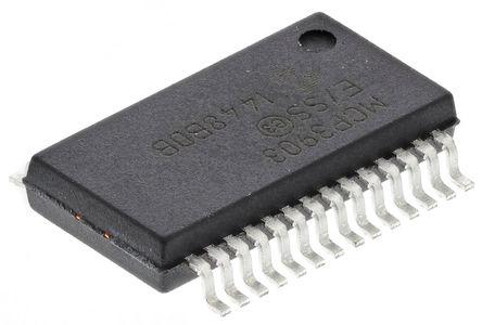 Microchip - MCP3903-E/SS - Microchip MCP3903-E/SS 能量计 IC, 16(模拟)位,24(数字)位分辨率, 28引脚 SSOP封装
