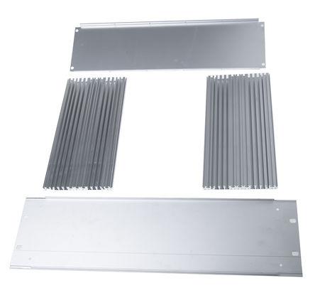 Schroff - 20860219 - Schroff Multipac Multipac 系列 天然色 铝/挤制铝 3U 底盘套件 20860219, 280mm深