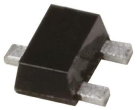 Panasonic - DSC300100L - Panasonic DSC300100L , NPN 晶体管, 100 mA, Vce=50 V, HFE:210, 150 MHz, 3引脚 SSSMini3 F2 B封装