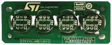 STMicroelectronics - STEVAL-MKI139V3 - STMicroelectronics 评估测试板 STEVAL-MKI139V3