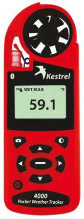 Kestrel - KESTREL 4000-BT - 4000 风速计, 最大风速40m/s, 测量气象