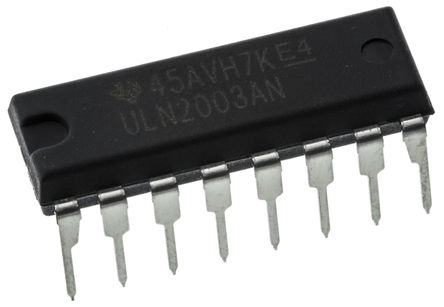 Texas Instruments - ULN2003AN - Texas Instruments ULN2003AN NPN 达林顿晶体管对, 0.5 A, Vce=50 V, 16引脚 PDIP封装
