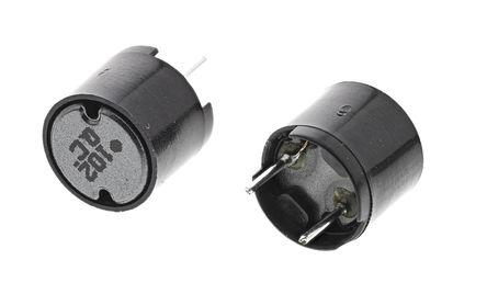 Panasonic - ELC09D102F - Panasonic ELC09D 系列 1 mH ±10% 铁氧体 ELC09D102F 引线型电感器, 280mA Idc, 2.1Ω Rdc, 9.5mm直径