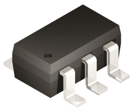 Silicon Labs - TS1101-25EG6 - Silicon Labs TS1101-25EG6 单 电流感应放大器, 双向输出, 6引脚 SOT-23封装