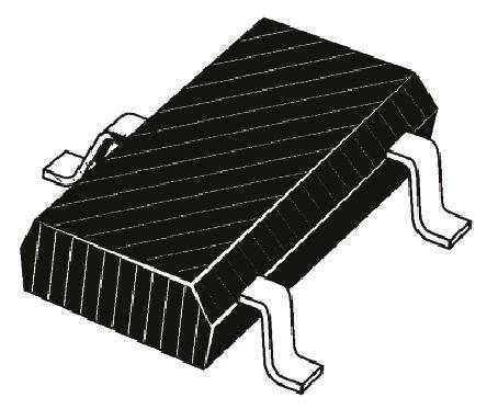 ROHM - 2SB1709TL - ROHM 2SB1709TL , PNP 双极晶体管, 1.5 A, Vce=12 V, HFE:270, 100 MHz, 3引脚 SC-96封装