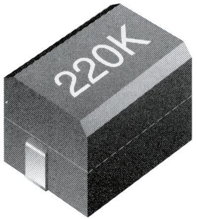 TE Connectivity - 1-1624094-5 - TE Connectivity 3613C 系列 屏蔽 铁氧体芯材 3.3 μH 绕线贴片电感器 3613C3R3K, ±10%容差, 355mA Idc Q:50, 800mΩ最大直流电阻, 1812封装