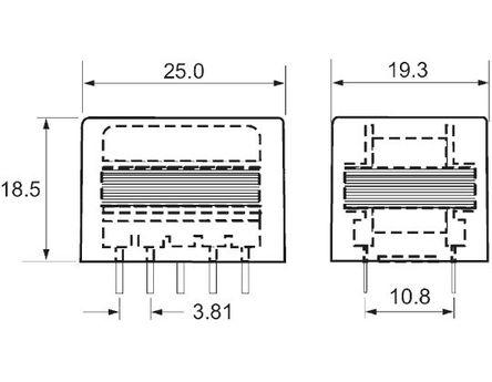 OEP - Z21805E - 音频变压器 1kΩ