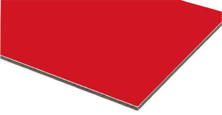 RS Pro - 79694 - RS Pro 铝板 79694, 600mm长 x 600mm宽 x 3mm厚, 适合于包层、仪表板、折叠部件、带标志托盘