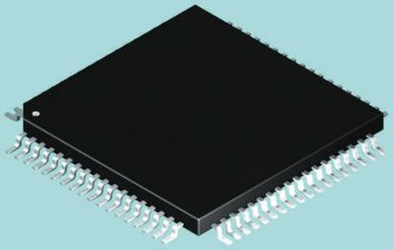 Analog Devices - AD5522JSVDZ - AD5522JSVDZ 参数测量单元 16bit, 80针 TQFP封装