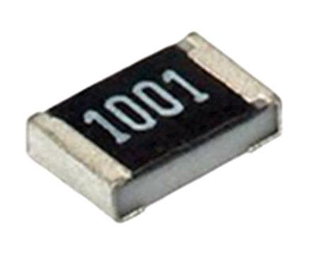 ROHM - MCR100JZHF1001 - ROHM MCR 系列 1W 1kΩ 厚膜SMD 电阻器 MCR100JZHF1001, ±1%, ±100ppm/°C, 2512 封装