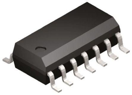 Analog Devices - AD8618ARZ - Analog Devices AD8618ARZ 四路 运算放大器, 24MHz增益带宽积, 3 V单电源电压, CMOS、轨至轨输出, 14引脚 SOIC封装