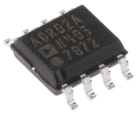 Analog Devices - ADR02ARZ - Analog Devices ADR02ARZ Fixed 5V 电压参考, 4.995 → 5.005 V输出, ±0.1 %精确度, 10mA最大输出, 8引脚 SOIC封装