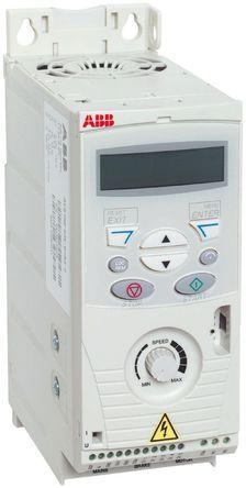 ABB - ACS150-03E-07A3-4 - ABB ACS150 系列 IP20 3 千瓦 变频器驱动 ACS150-03E-07A3-4, 500Hz, 7.3 A, 380 → 480 V