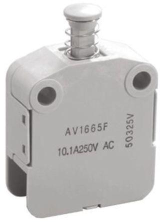 Panasonic - AV14653F - 单刀单掷 - 常开/常闭 安全互锁开关, 10.1 A @ 250 V 交流