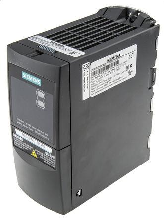Siemens - 6SE64402UD175AA1 - Siemens MICROMASTER 440 系列 IP20 0.75 kW 变频器驱动 6SE64402UD175AA1, 0 → 550 Hz, 3.7 A, 380 → 480 V 交流