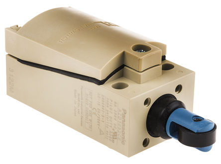 Panasonic - AZD1052CEJ - Panasonic IP67 限位开关 AZD1052CEJ, 柱塞, DPST, 常开/常闭, 380V