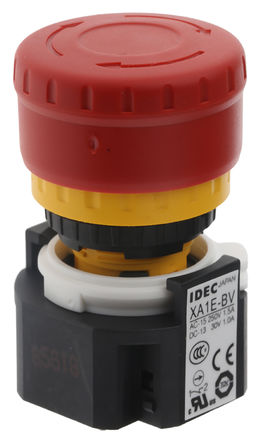 Idec - XA1E-BV313R - Idec XA1E-BV313R IP65 �t色 �]�i 3 常�]/常�_ 面板安�b 按�o�_�P