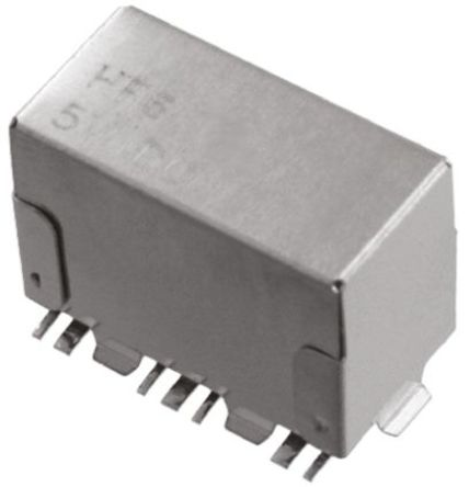TE Connectivity - HF6 56 - TE Connectivity 单刀双掷 表面贴装 高频继电器 1462052-6, 12V dc