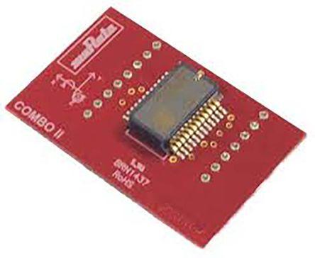 Murata - SCC2130-D08-PCB - Murata SCC2130-D08-PCB 3轴 运动传感器模块, SPI接口, 0.1 → 8 MHz, 3 → 3.6 V电源, 24引脚 SOIC封装