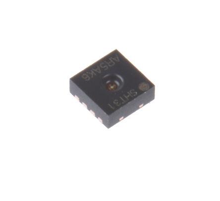 Sensirion - SHT31-ARP-B - Sensirion SHT31-ARP-B 14 位 温度和湿度传感器, ±0.3 °C, ±2 %RH精确度, 模拟接口, 2.4 → 5.5 V电源, -40 → +125 °C工作温度, 8引脚 DFN封装