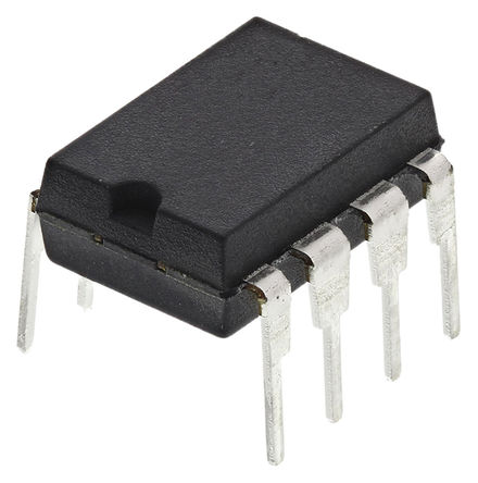 Infineon - ICE3A2065ELJ - Infineon ICE3A2065ELJ 交流-直流电源转换, SMPS 电流模式控制, 108 kHz最高开关频率, 最高 21 V输入, 8引脚 DIP封装