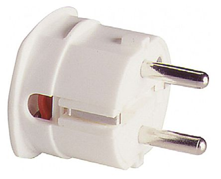 ABL Sursum - 1107110 - ABL Sursum 1107110 白色 2P+E 德国 电源插头, 额定250 V 16A