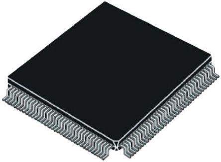 STMicroelectronics - STR710FZ2T6 - STMicroelectronics STR7 系列 32 bit ARM7TDMI MCU STR710FZ2T6, 50MHz, 16 kB, 256 kB ROM 闪存, 64 kB RAM, 1xUSB, LQFP-144